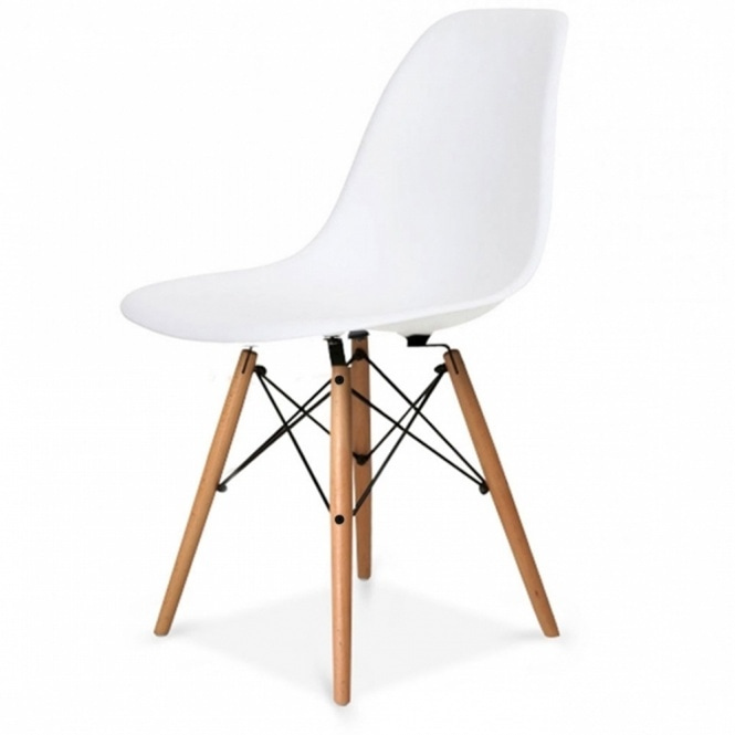 Buy Eames Style Cool White Retro Chair Buy Eames Chair White Beech
