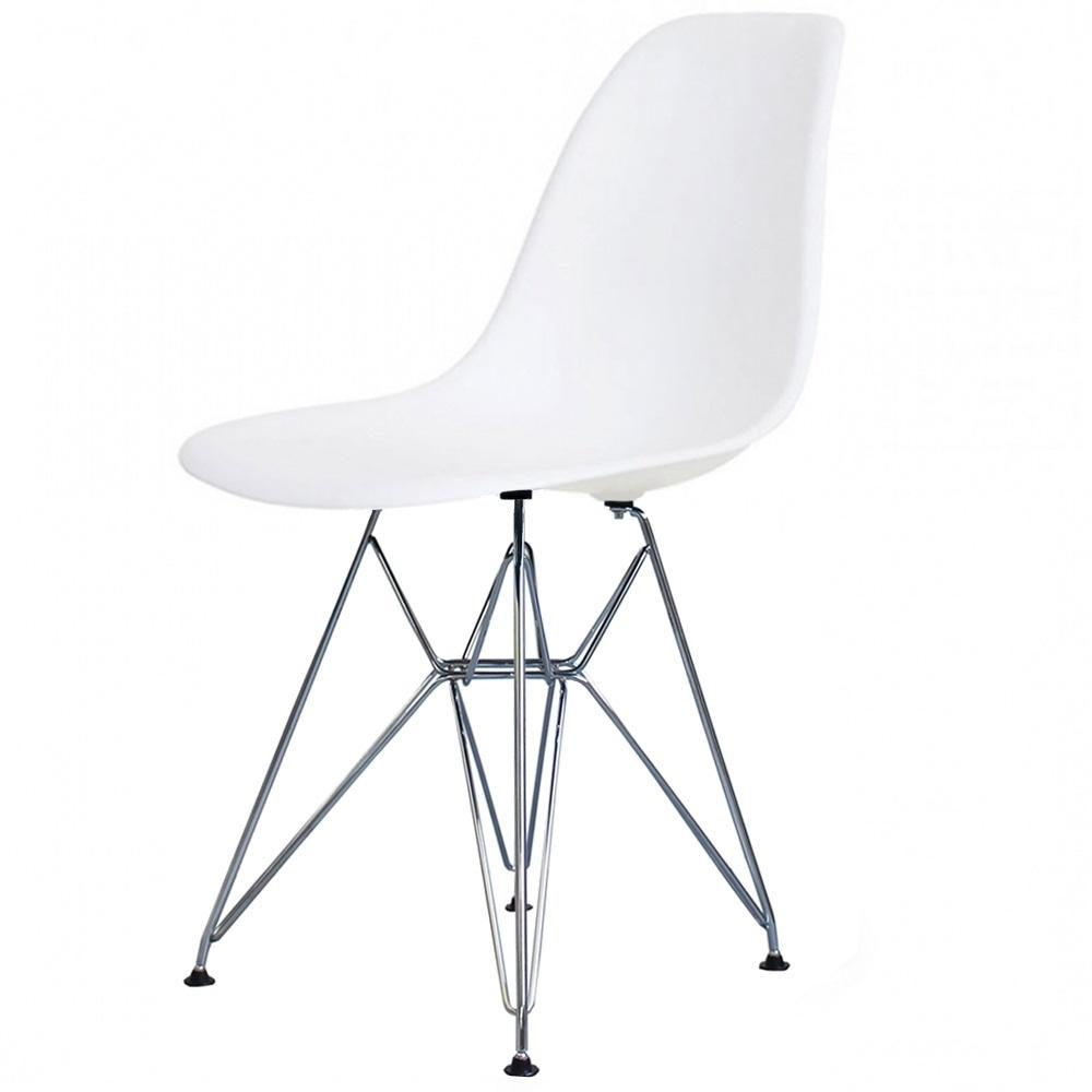 buy eames style eiffel cool white retro chair | cool white retro eames