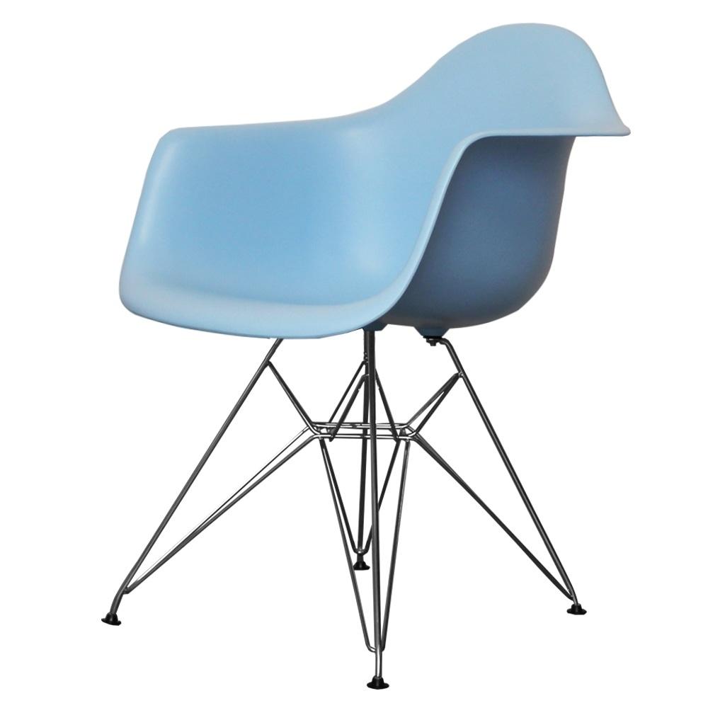 Eiffel Arm ChairEiffel Chair White Plastic Arm Chair With  : charles eames style eiffel light blue plastic retro armchair p105 4077image from algarveglobal.com size 600 x 600 jpeg 25kB