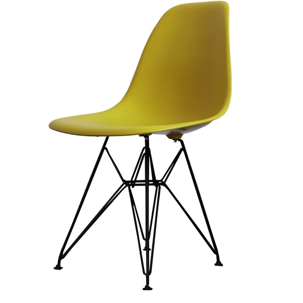 Living Fusion Style Eiffel Buy Side Eames From Mustard Yellow Chair W2bHE9IeDY