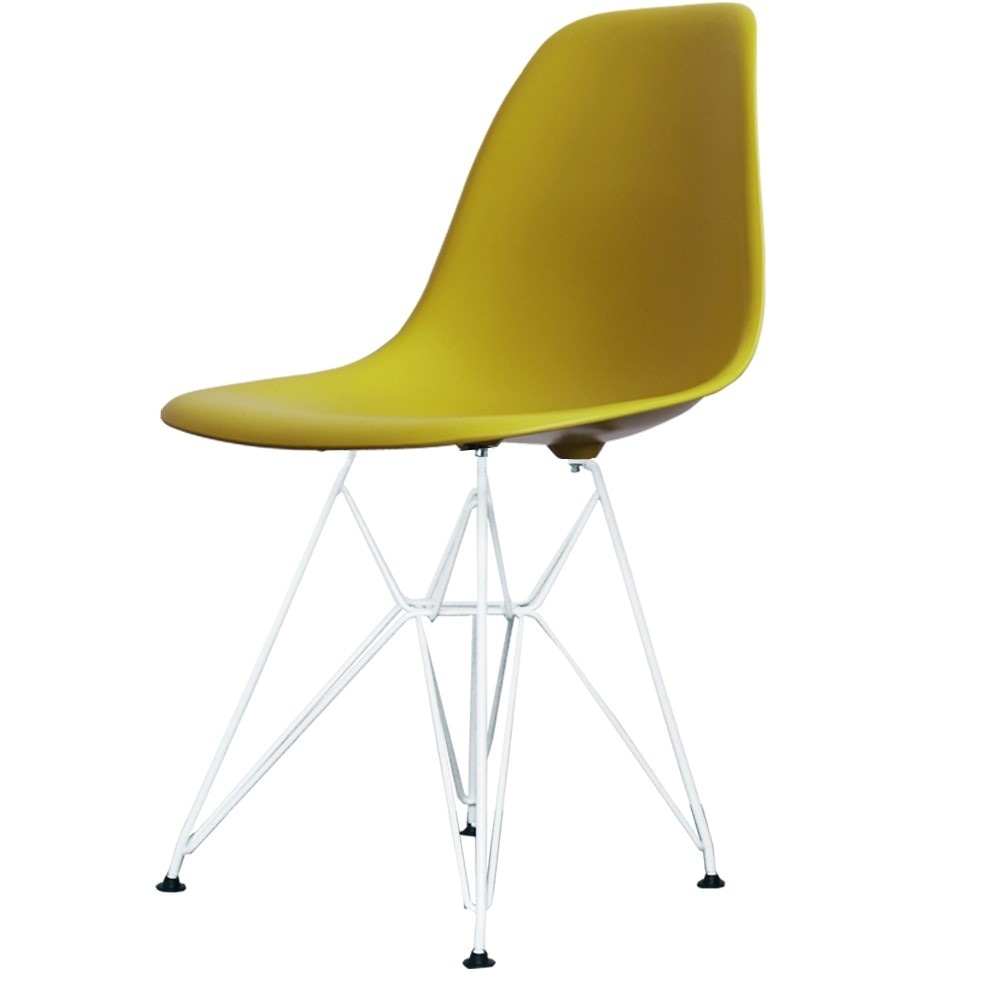 Mustard Eames Eiffel Yellow Chair Style Living From Side Fusion Buy shrdtQ