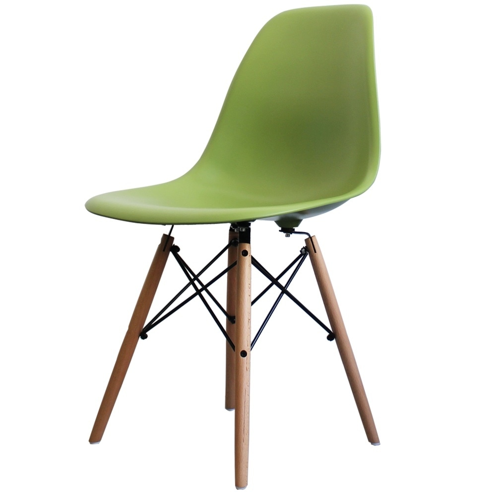 buy eames style green retro chair eames retro side chair online. Black Bedroom Furniture Sets. Home Design Ideas