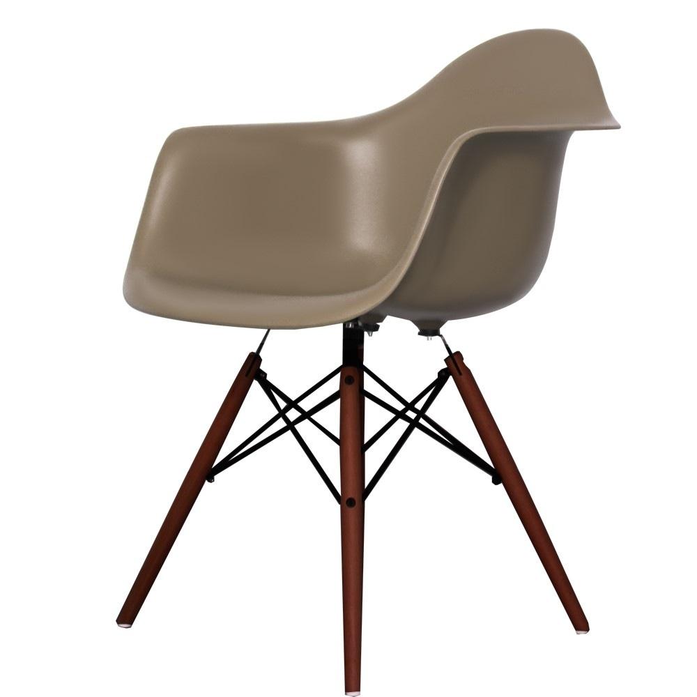 Buy Eames Style Slate Plastic Retro Armchair Fusion Living