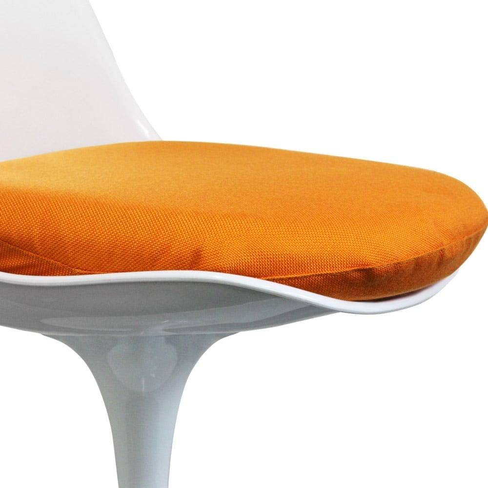 Eero Saarinen Orange Tulip Side Chair Cushion