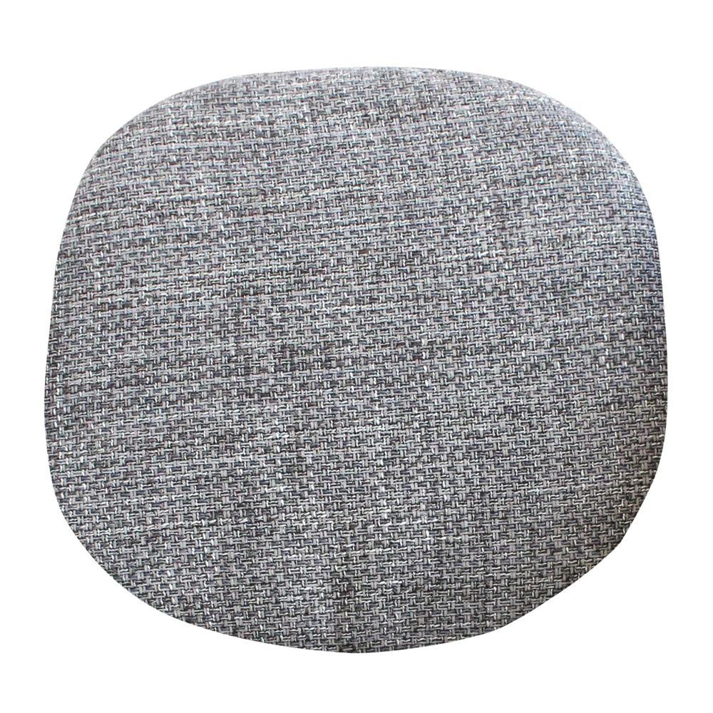 Eero Saarinen Textured Grey Tulip Side Chair Cushion