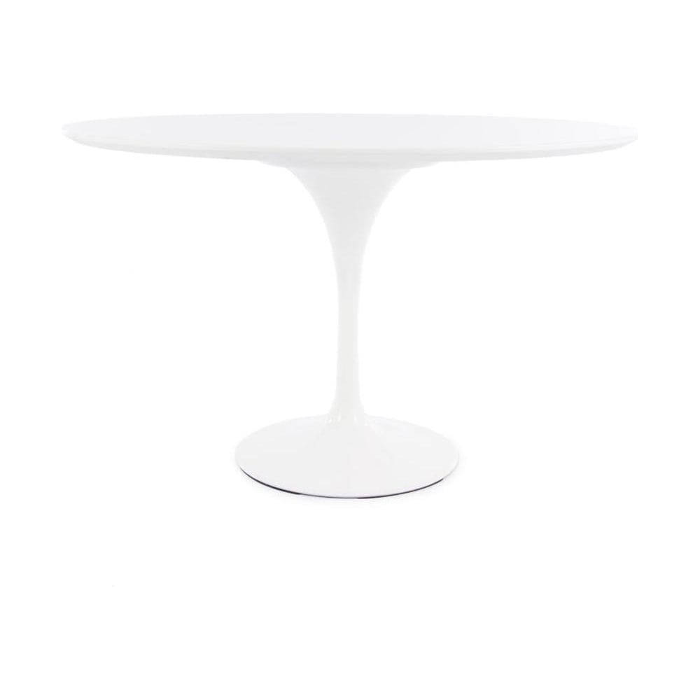 Charmant White Tulip Style Large Circular Table