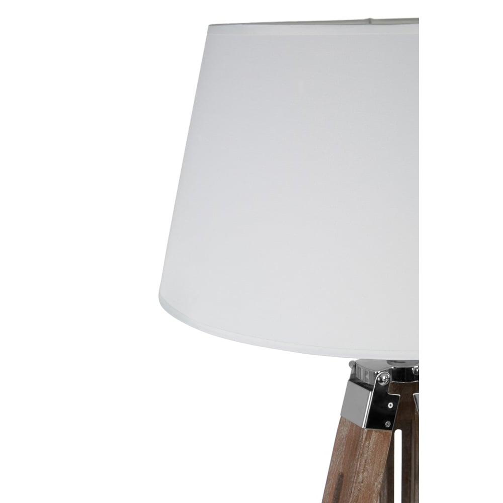 Contemporary brown and cream tripod floor lamp from fusion living now contemporary brown and cream tripod floor lamp aloadofball Choice Image