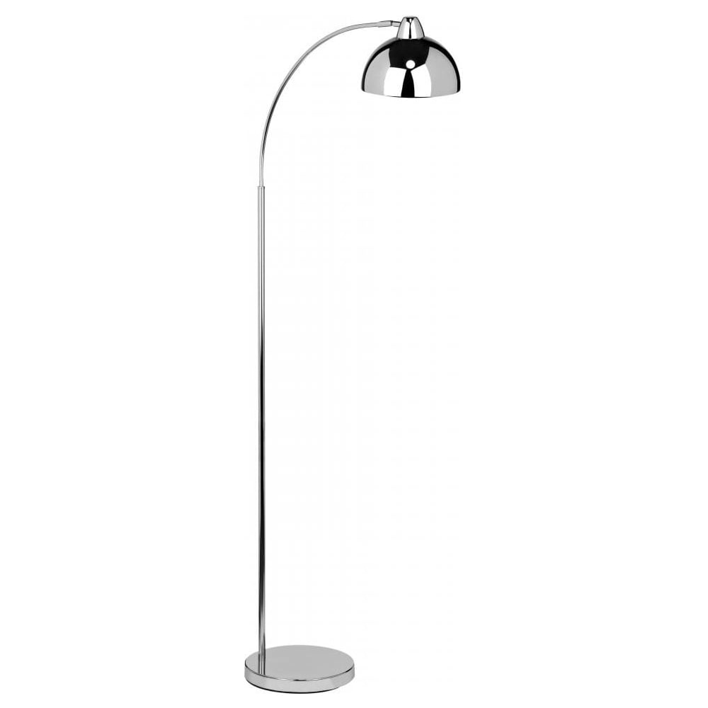 Buy Curved Chrome Floor Lamp | Buy Curved Style Contemporary Lighting