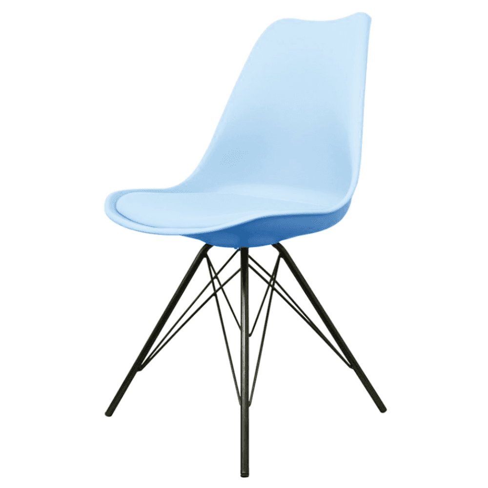 Classic Wooden Sofa Set, Buy Eiffel Inspired Blue Plastic Dining Chair With Black Metal Legs