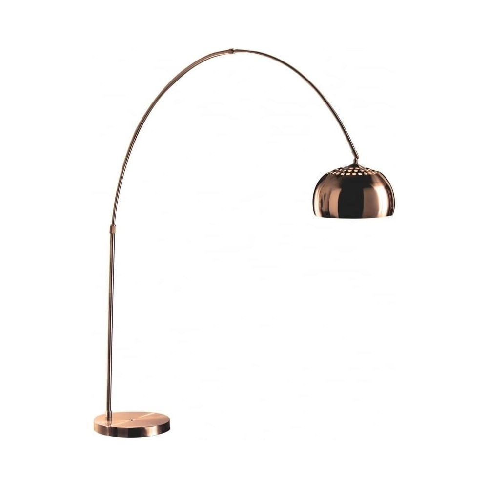 Buy extra large arched copper floor standing lamp from fusion living extra large arched copper floor standing lamp aloadofball Gallery