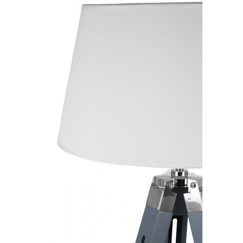 Grey and cream tripod floor lamp available from fusion living grey and cream tripod floor lamp aloadofball Choice Image