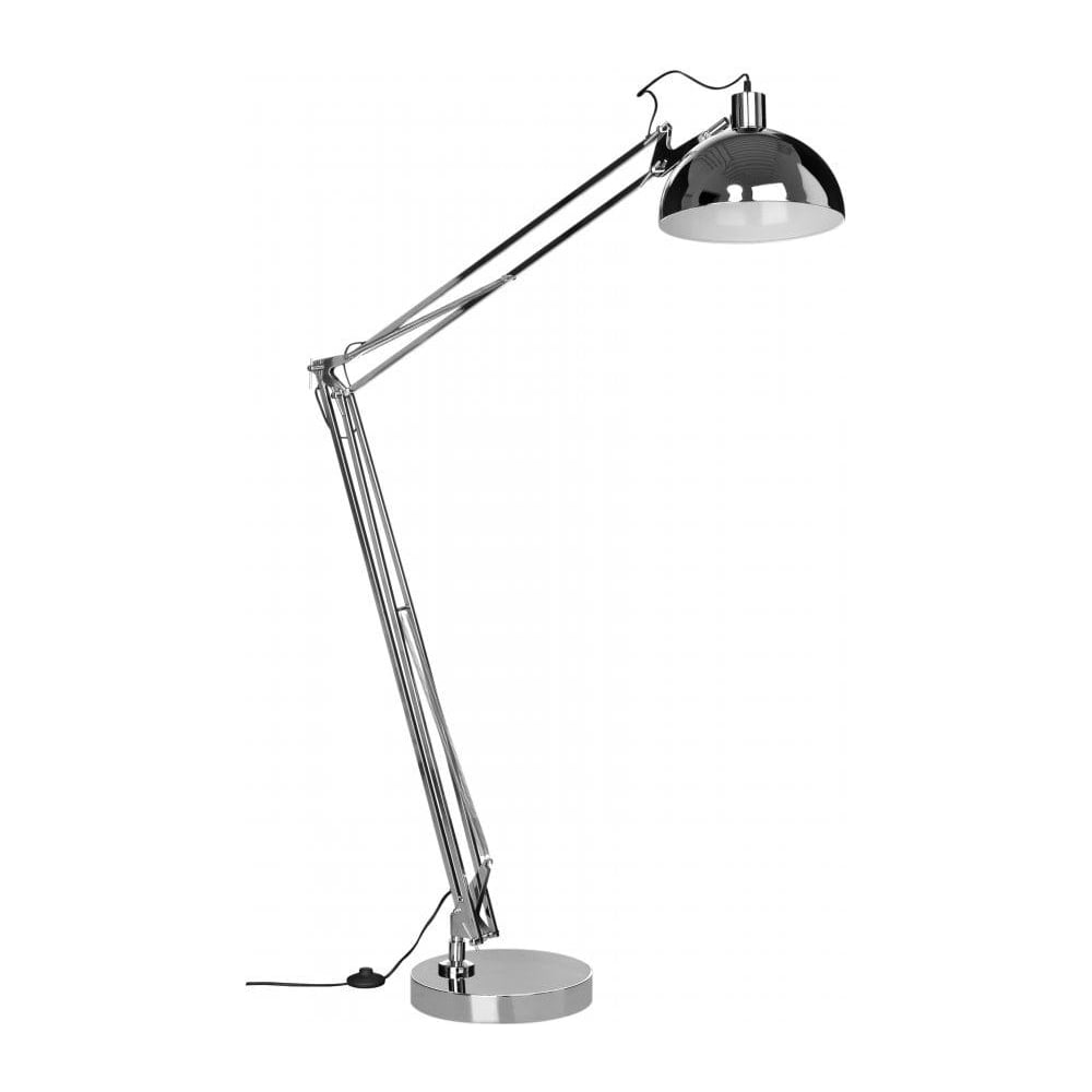 Buy Large Industrial Style Chrome Lamp | Buy this Floor ...