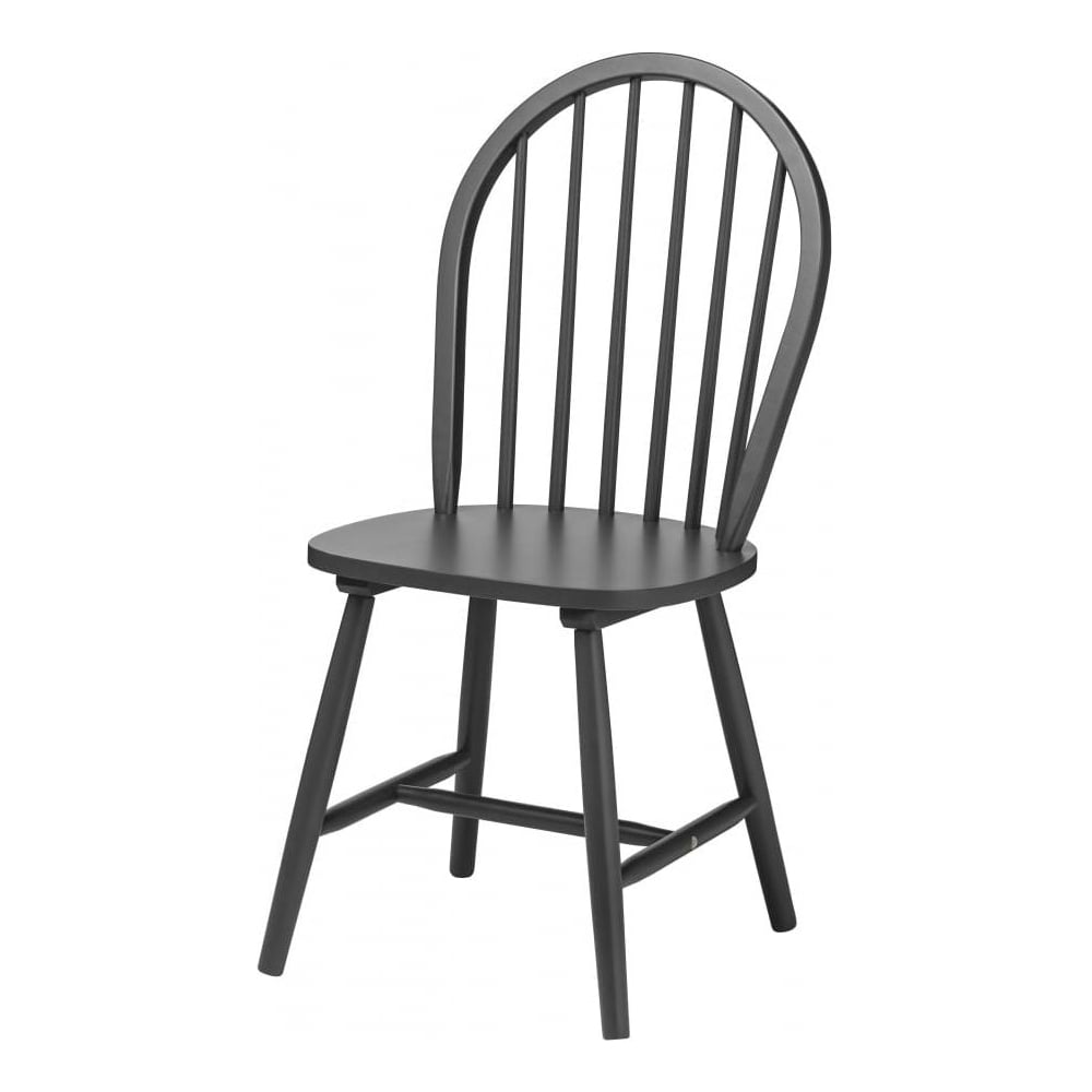 grey wood dining chairs. New England Style Dark Grey Wood Dining Chair Chairs I