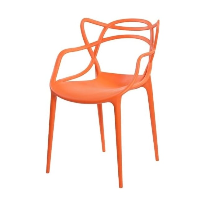 Buy Orange Masters Style Chair From Fusion Living Online