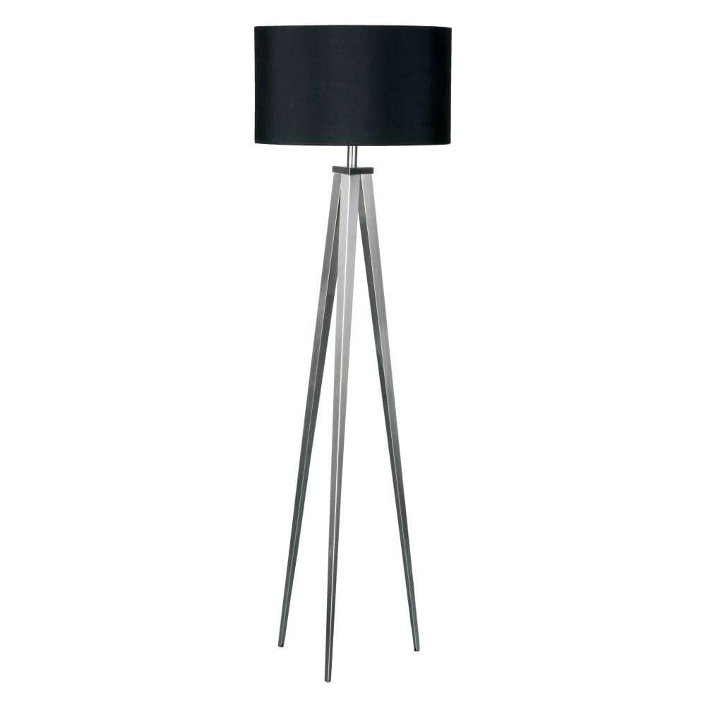 Buy Satin Nickel Floor Standing Lamp Buy Large Tripod