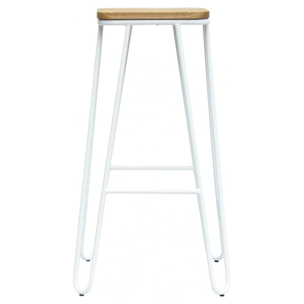 chrome stool red black frame bar backless products vinyl royal square industries with ring single
