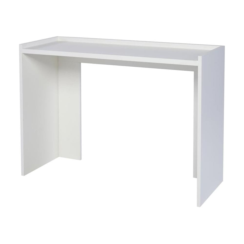 Buy matt white contemporary console table from fusion living for White contemporary console table