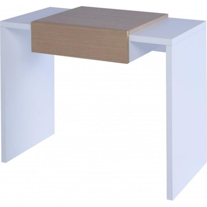 Buy Gillmore Space White And Oak Small Console From Fusion