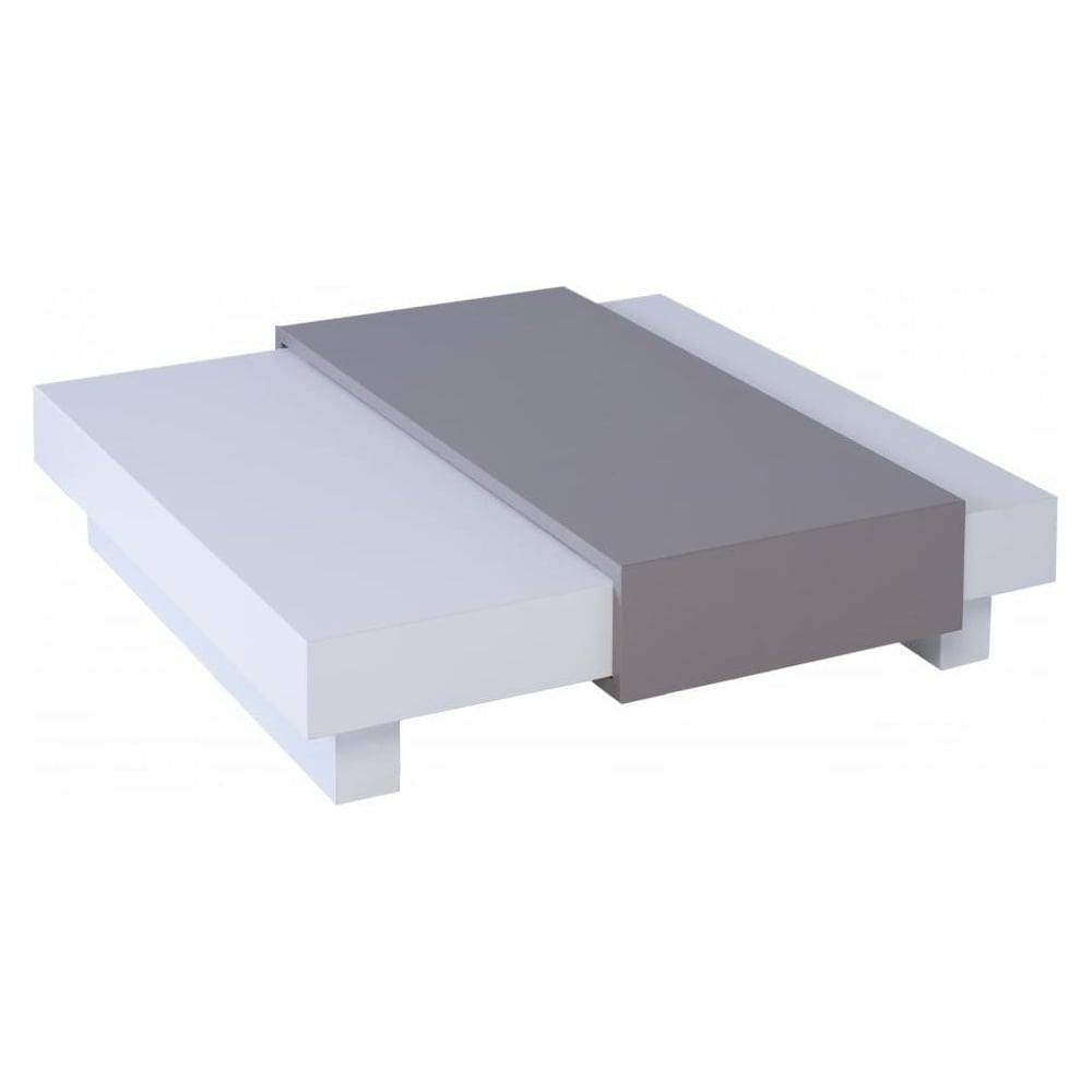 Buy Walnut And Black Metal Square Coffee Table From Fusion: Buy Gillmore Space White Square Coffee Table From Fusion