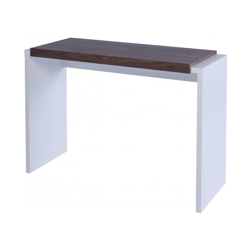 - Buy Gillmore Space White And Walnut Console Table From Fusion Living
