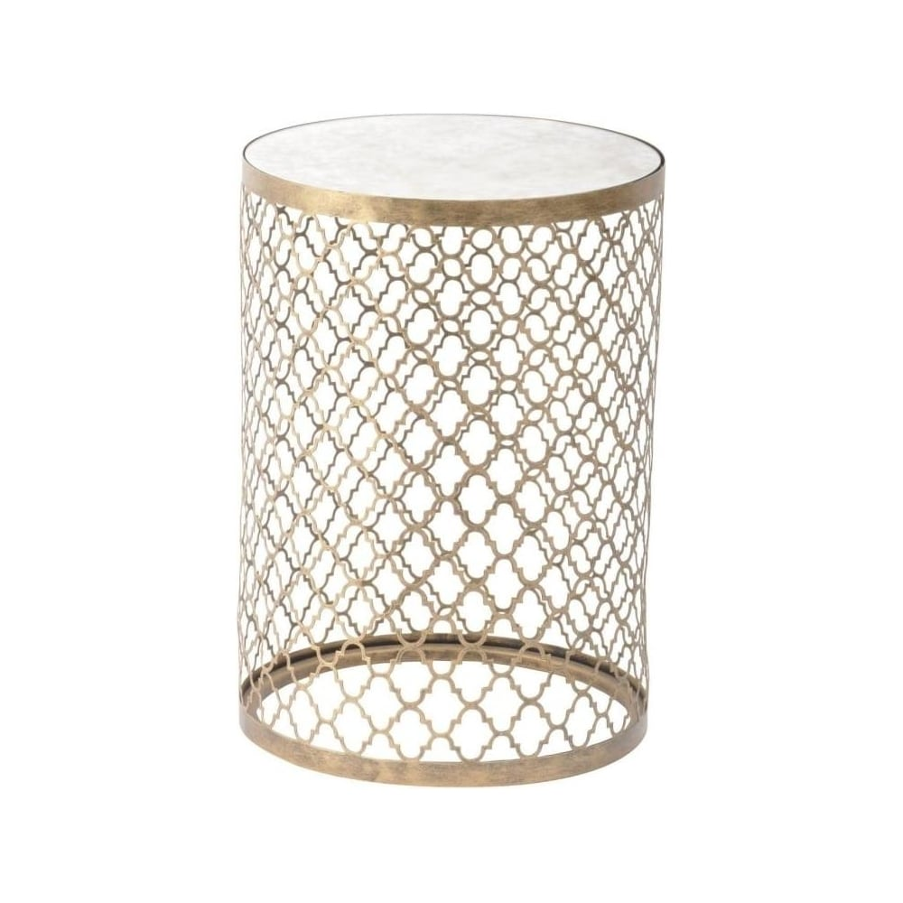 sidetable gold en indy online looking table an product shop world at black the side and for