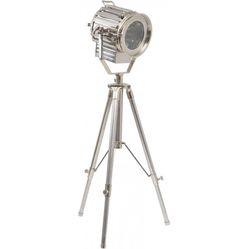Buy Libra Large Nickel Studio Tripod Floor Lamp From Fusion Living