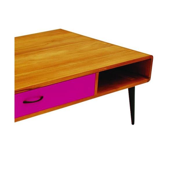 Libra Furniture Multicoloured Retro Coffee Table Tables From