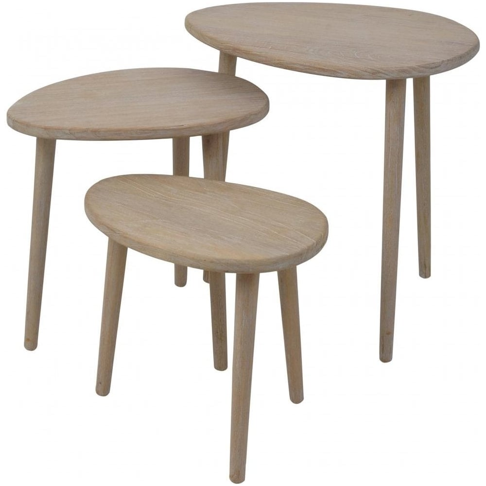 Oval Coffee Table Nest: Buy Oval Retro Style Nest Of Tables From Fusion Living