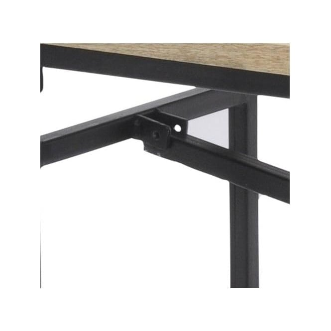 Fabulous Solid Mango Wood And Metal Industrial Dining Bench Gmtry Best Dining Table And Chair Ideas Images Gmtryco