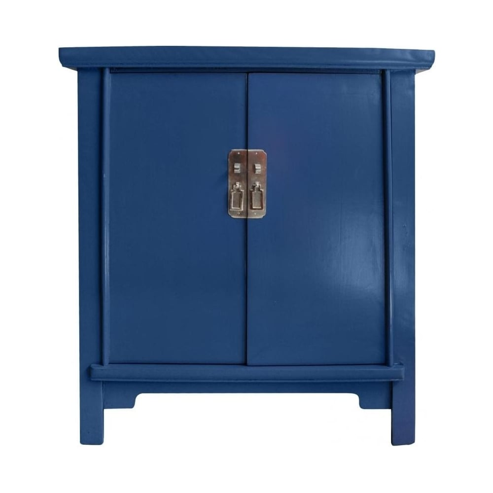 Buy Qing Dao Denim Blue Cabinet Qing Dao Storage