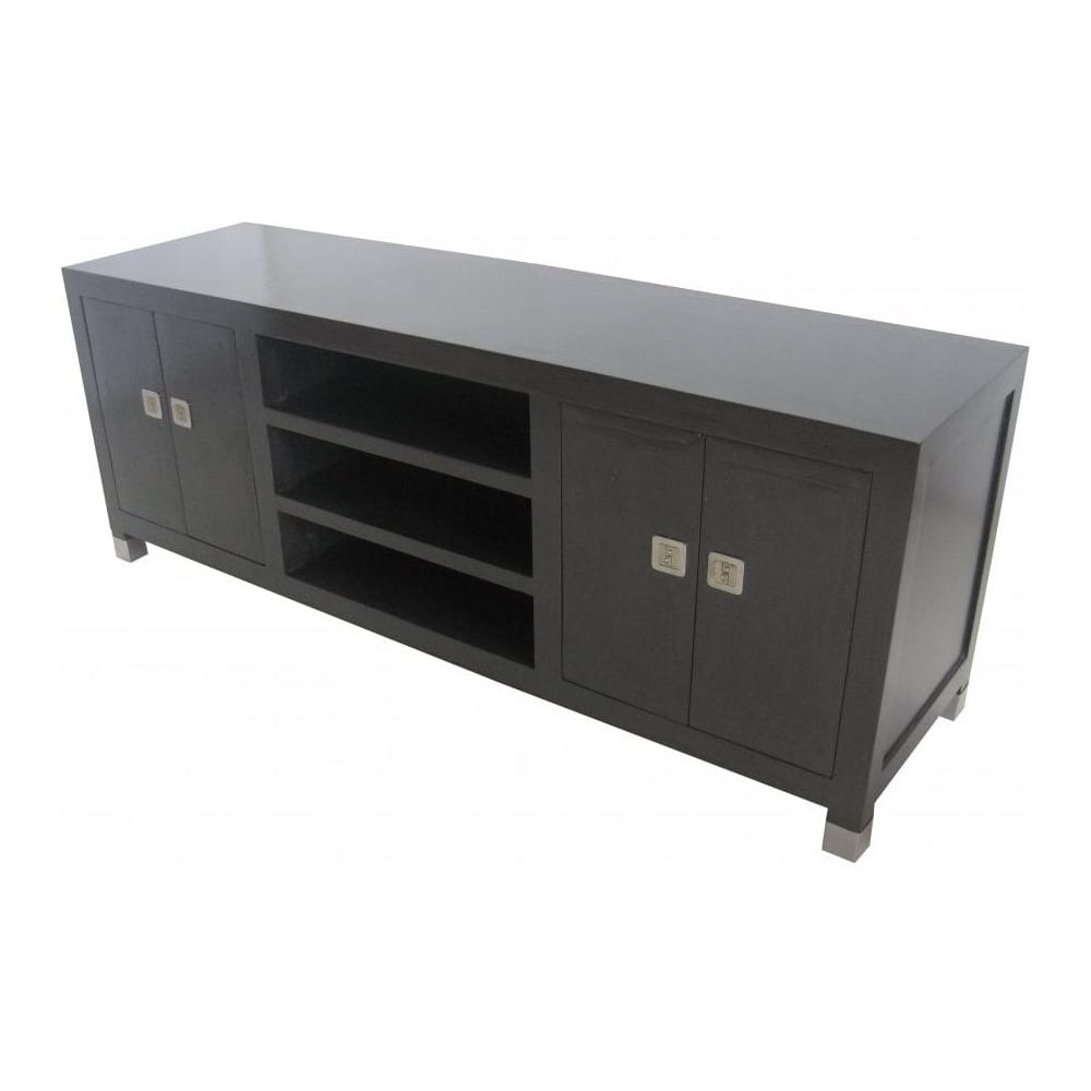 Graphite Grey Media Cabinet