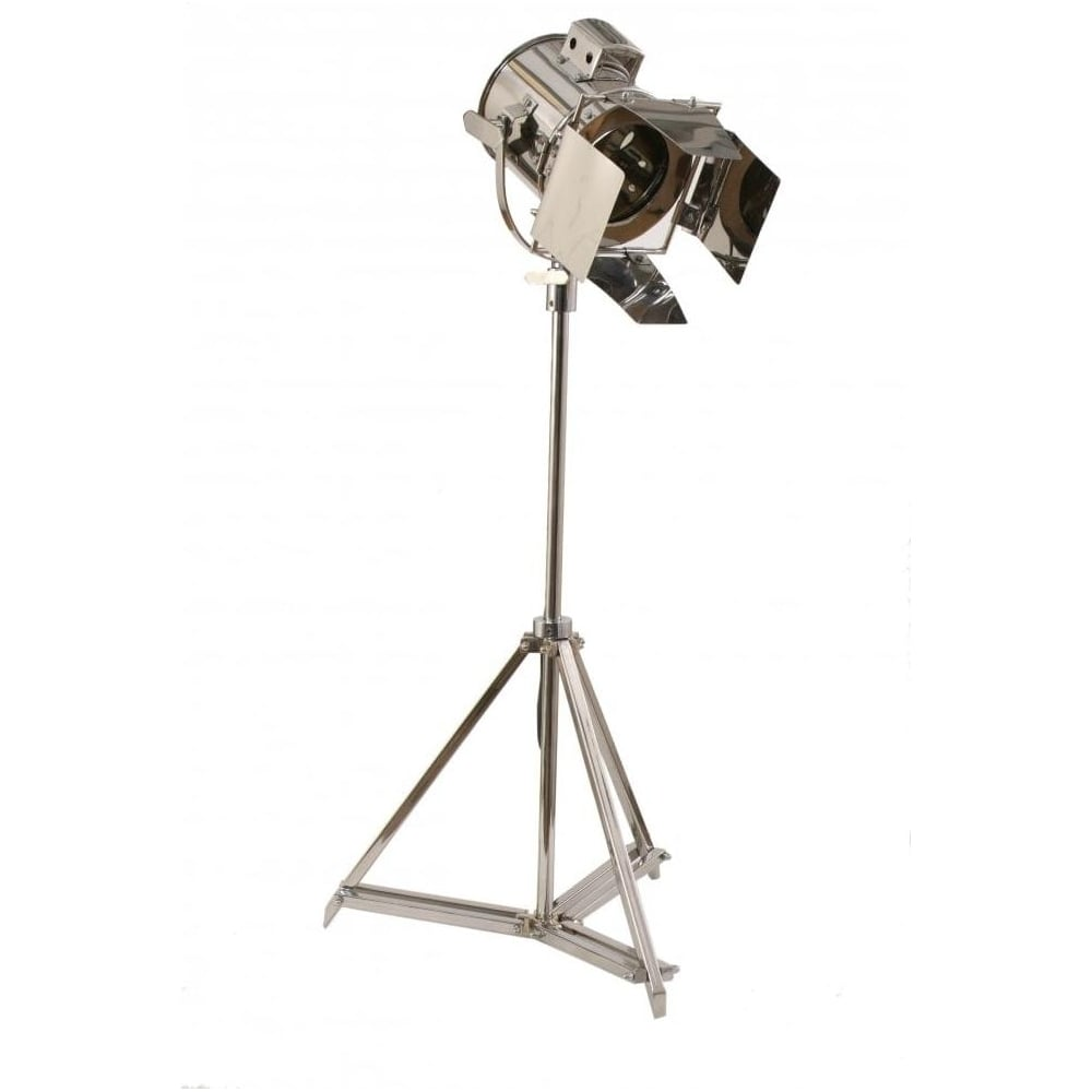steel studio spotlight floor lamp - Spotlight Floor Lamp