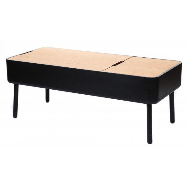 Buy stil scandinavian multi use black coffee table from for Buy black coffee table