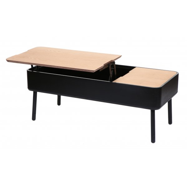Multi Use Table buy stil scandinavian multi use black coffee table from fusion living